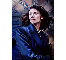 The Sassenach In Blue Photographic Print