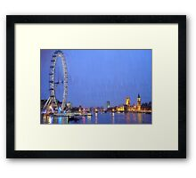 LONDON_View 102 Framed Print
