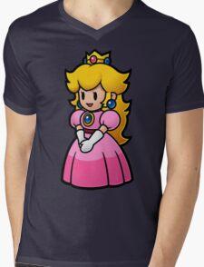 Princess Peach Mens V-Neck T-Shirt