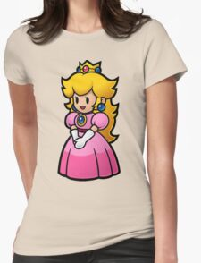 Princess Peach Womens Fitted T-Shirt