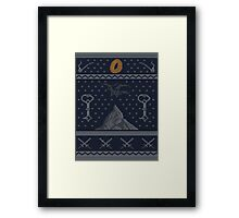 To The Mountain!  Framed Print