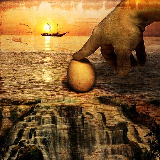 the egg of Columbus by olga  hutsul