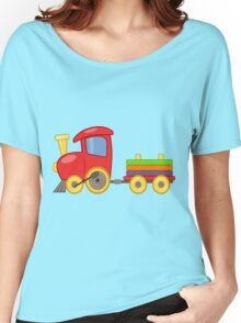 Red Train Women's Relaxed Fit T-Shirt