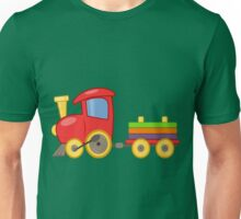 Red Train Unisex T-Shirt