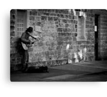 Playing for Kicks or Tips Canvas Print