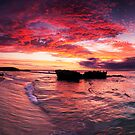 Trigg Beach Sunset by Paul Pichugin