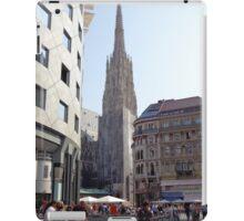 St. Stephen's Plaza, Vienna, Austria iPad Case/Skin