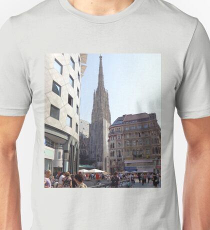 St. Stephen's Plaza, Vienna, Austria Unisex T-Shirt