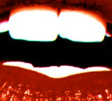 lips 2 Sticker