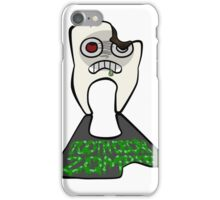 The tooth decay zombie iPhone Case/Skin
