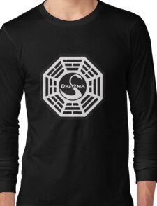 Keep Calm and Dharma Swan  Long Sleeve T-Shirt
