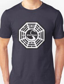 Keep Calm and Dharma Swan  Unisex T-Shirt