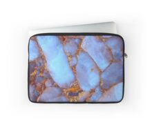 Blue Quartz and Gold iPhone / Samsung Galaxy Case Laptop Sleeve
