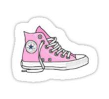 Pink Converse tumblr Sticker