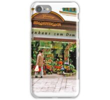 flower shop, Vienna, Austria iPhone Case/Skin