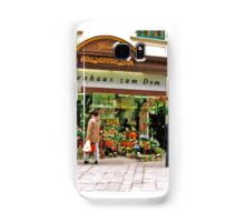 flower shop, Vienna, Austria Samsung Galaxy Case/Skin