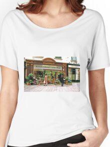 flower shop, Vienna, Austria Women's Relaxed Fit T-Shirt