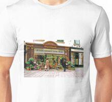 flower shop, Vienna, Austria Unisex T-Shirt