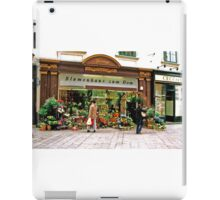 flower shop, Vienna, Austria iPad Case/Skin
