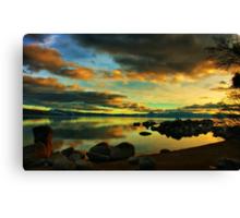 Tahoe Meditations Canvas Print