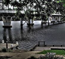 Shoalhaven River Bridge, Nowra. Australia by waxyfrog