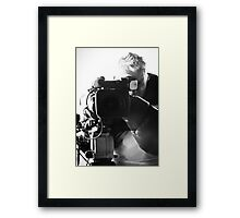 The Other side of the Lens  Framed Print