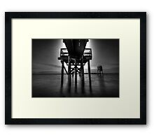 Looking for trolls Framed Print