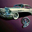 1955 Buick Century by Steven  Agius