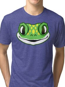 Green Cheeky Gecko Tri-blend T-Shirt