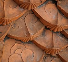 artscapes #14, old roof by stickelsimages