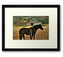It's MY Barn! Framed Print