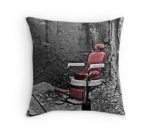 Sit For a Clip Throw Pillow