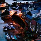 Staithes Village Yorkshire by Dave Hudspeth