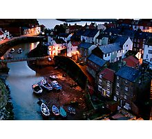 Staithes Village Yorkshire Photographic Print