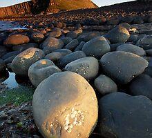 Dunstanbrough Castle by Dave Hudspeth