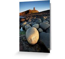 Dunstanbrough Castle Greeting Card