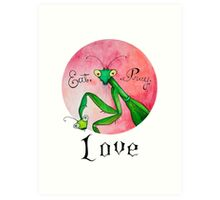 Eat Pray Love Art Print