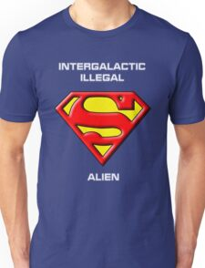 Intergalactic Illegal Alien Unisex T-Shirt