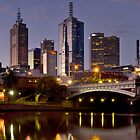 Melbourne at Dusk by Paul Oliver
