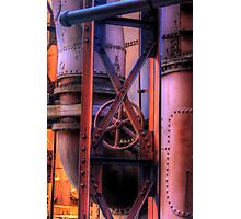 Pipes Photographic Print