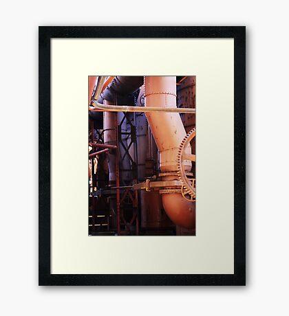 Tubes and Wheelies Framed Print
