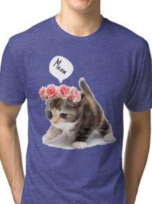 Adorable kitty Tri-blend T-Shirt