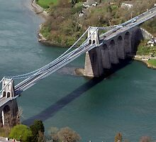 Menai Suspension Bridge by steveransome