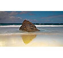 Rock Solitary Photographic Print