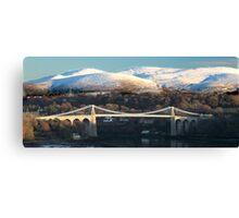 The Menai Bridge  Canvas Print