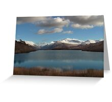 Mount Snowdon Greeting Card