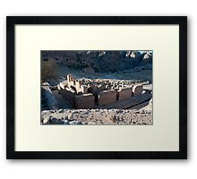 The Great Temple Framed Print