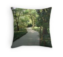 Lonely Path Throw Pillow