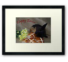 Hot Crossed Bunnies Framed Print