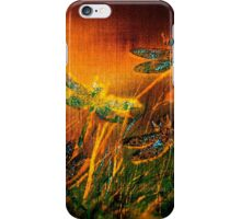 Dragonfly...Towards The Light  iPhone Case/Skin